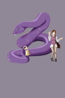 Snake with bell by CendresdeLune2711