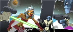 Jedi surrounded by mrlavo