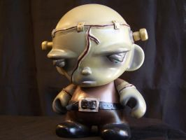 Franklin JR, custom Munny by AliasGhost
