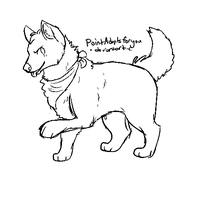 Free lineart - ms paint - by PointAdoptsforyou