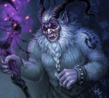 Yeti-wizard by Beffana
