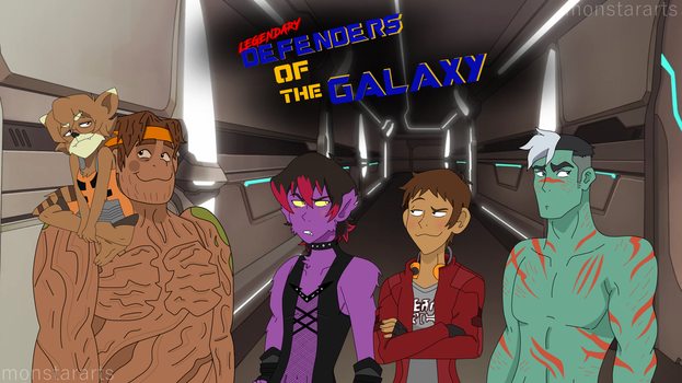 Defenders of the Galaxy by monstararts