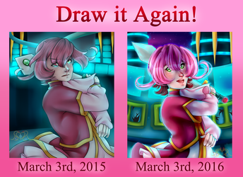 3-3 Day Redraw Meme by MikomiKisomi