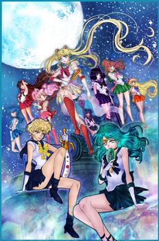 Sailor Moon poster by Icempress