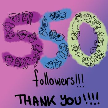 550 Followers by DitaDiPolvere