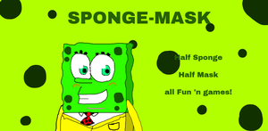 The Sponge-Mask by Spongecat1