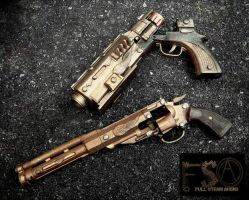 Arms of the Gunslinger- Open Up, Baby by KingMakerCustoms