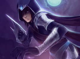 League of Legends - Talon by Twigileia