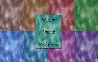 Digital Backgrounds - Whispy Clouds Series 1 by FTSArts