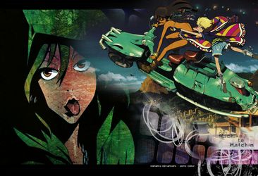 Michiko to Hatchin wallpaper by Manamiy