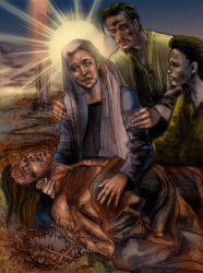 Station of the Cross 13 by Fusciart