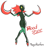 Fan Gem - Bloodstone by MegaRezfan