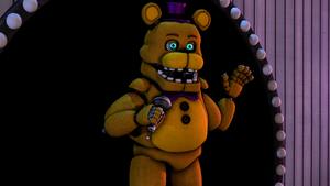 Fredbear On Stage by reevesguy