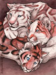 Three of One Blood by MoonsongWolf