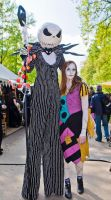 Jack and Sally costumes by Mnemousyne