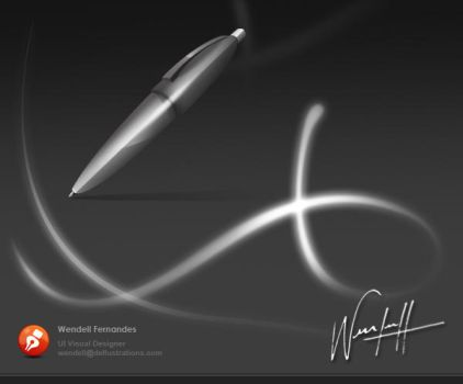 Pen Icon by dellustrations