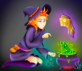 Witch by MrCrolick