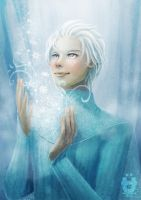 Male!Elsa by AlaisL
