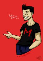Markiplier: Hello Babeh! by Rikka-The-Cat