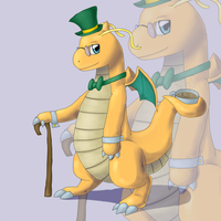 Fancy Dragonite by CrazyIguana
