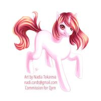 Pony Commission for Qyrn part 1 by Daina-Lockie