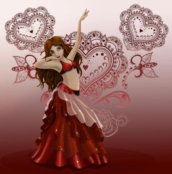 Valentine Dancer by ZellyKat