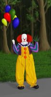 Pennywise from Stephen King's It by MissBuffySpears
