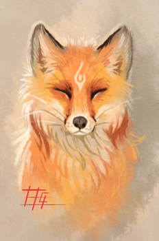 The fox by griffsnuff