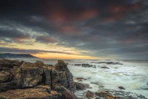 red clouds by MarcosRodriguez