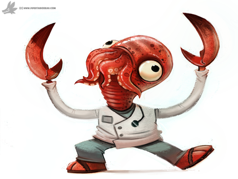 Day 810# Dr.Zoidberg by Cryptid-Creations