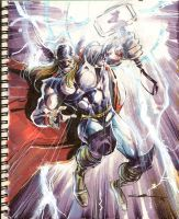 Sketch 22: Thor by Cinar
