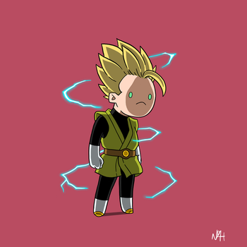 Gohan [25TH WORLD MARTIAL ARTS TOURNAMENT] by TheFutureFoundation