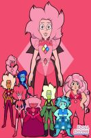 Pink Diamond's Court by SfCabanas15