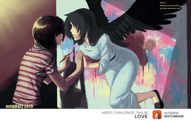 August Hero Challenge: Love is... this. by avimHarZ