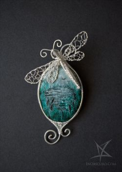 Swamp brooch by MissAnnThropia