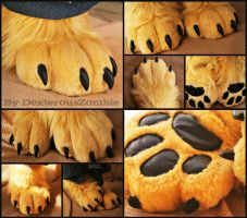 Gold sockpaws - CMSH by DexterousZombie