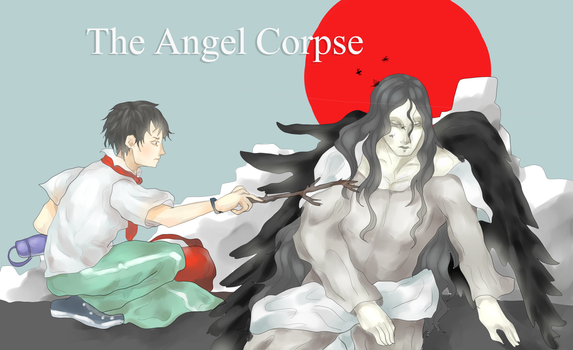 Xiao ming and the angel corpse by Amiralo