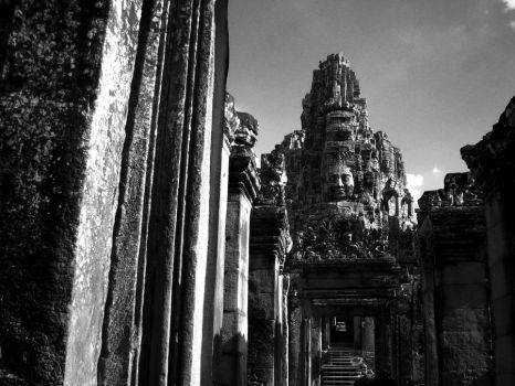 Angkor I by dreaminginred