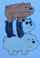 We Bare Bears! by AngeloCN