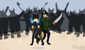 Request from BrianTheFox ~ ShadowEclipex by White-fox77