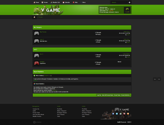 VGAME MyBB Premium Theme from MySkins Studio by enviraphani