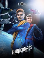 Thunderbirds Are Go EOS Poster by Jackardy
