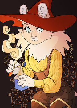 Wizard Fluff by jennaforever77