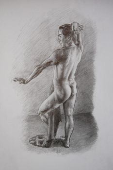 Life drawing studies 1 (second take) by zaraki08
