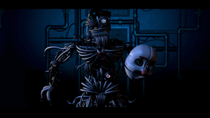 The Monster Behind The Mask - [FNaF SL Blender] by ChuizaProductions