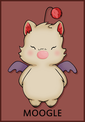 Moogle by Cow-Tail