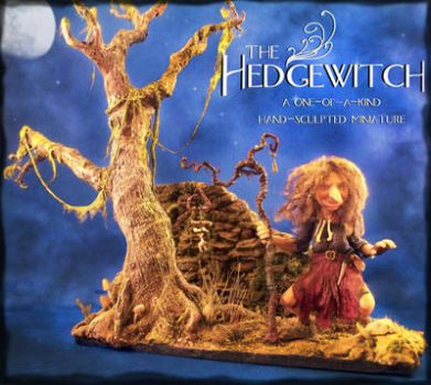 Hedgewitch display by prettymonsters