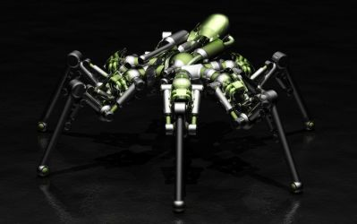 Spider Robot 18 by Aleph-