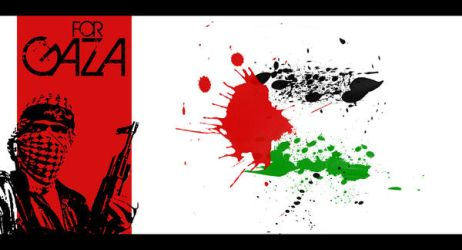 FOR GAZA by Me by smusta