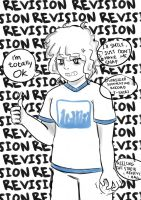 Revision hell is worst hell by tou-chan